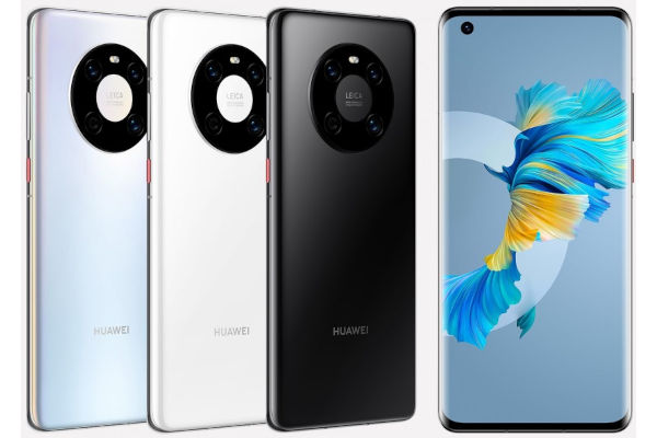 Huawei Mate 40E in colors