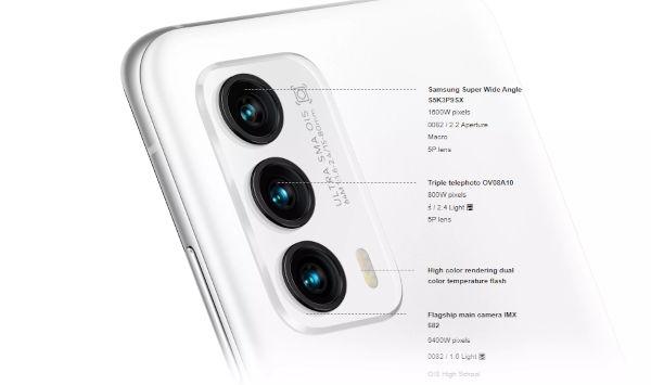 Meizu 18 rear cameras