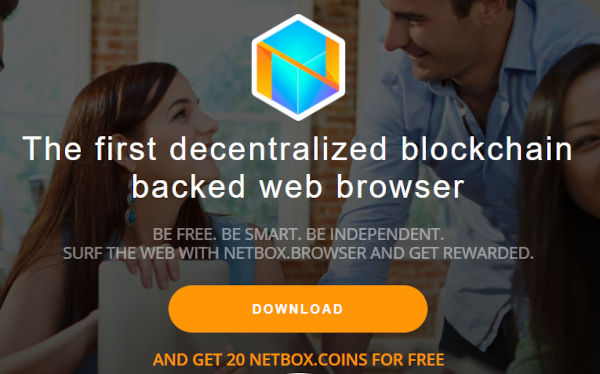 Netbox browser gets you free NBX Crypto coin 2