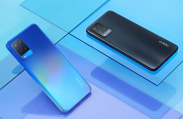 OPPO A54 4G in colors