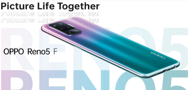OPPO Reno5 F launched