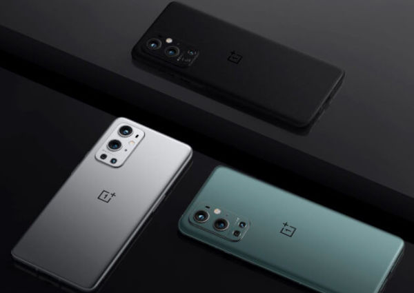 OnePlus 9 Pro in colors