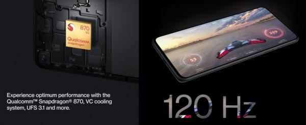 OnePlus 9R Display