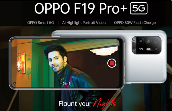 Oppo F19 Pro plus 5G Launched