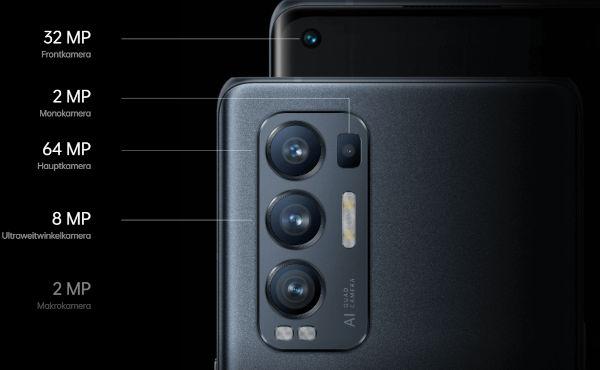 Oppo Find X3 Lite Camera details