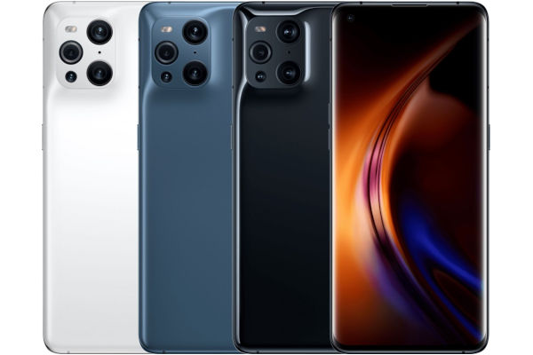 Oppo Find X3 in colors