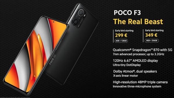 POCO F3 buyers