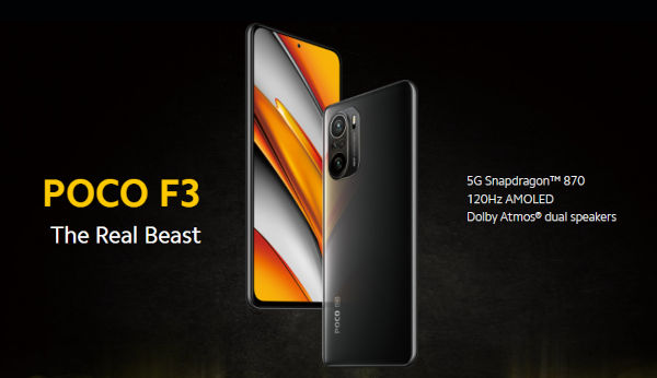POCO F3 launched
