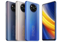 POCO X3 Pro in colors