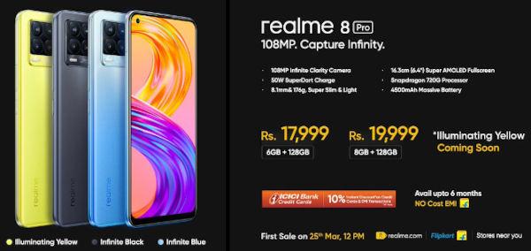 Realme 8 Pro Prices 1
