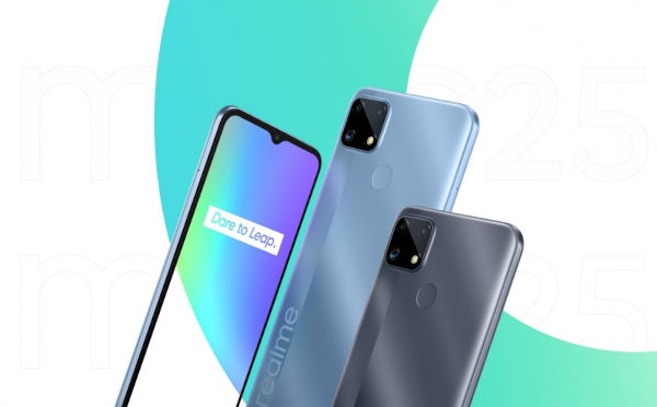Realme C25 launched