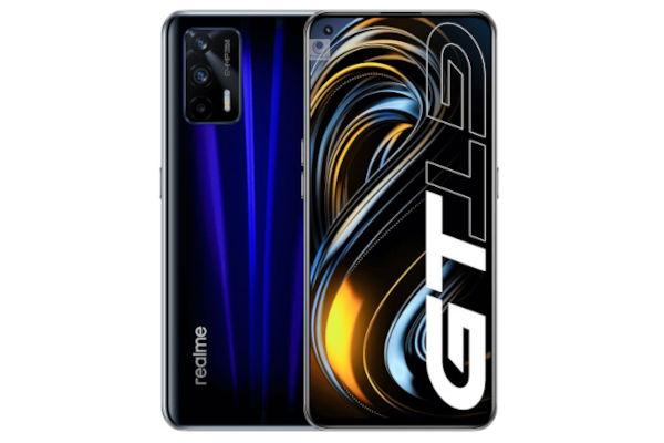 Realme GT 5G in Deep Sea Blue