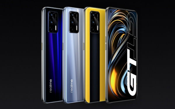 Realme GT 5G in colors