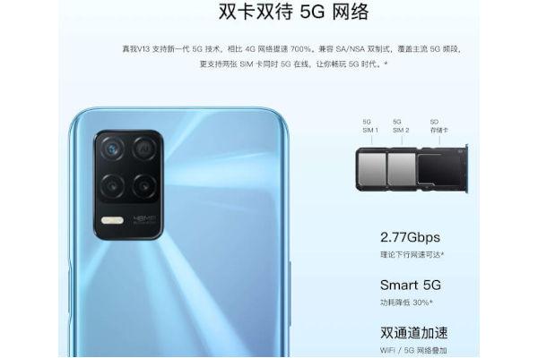 Realme V13 5G features