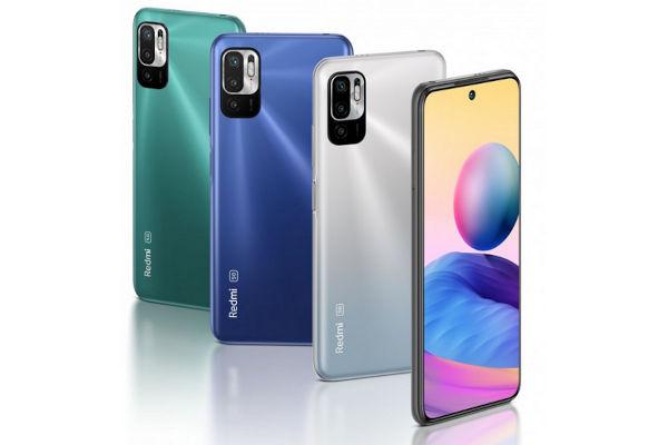 Redmi Note 10 5G in colors