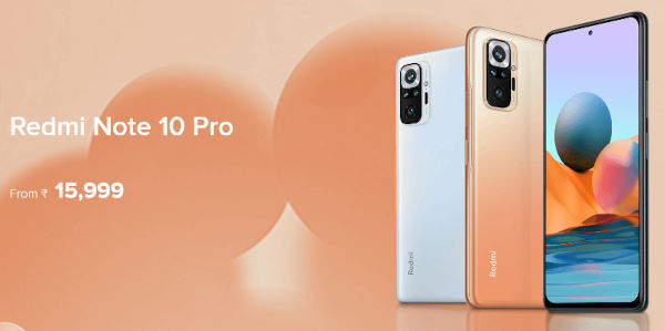 Redmi Note 10 Pro India Launched