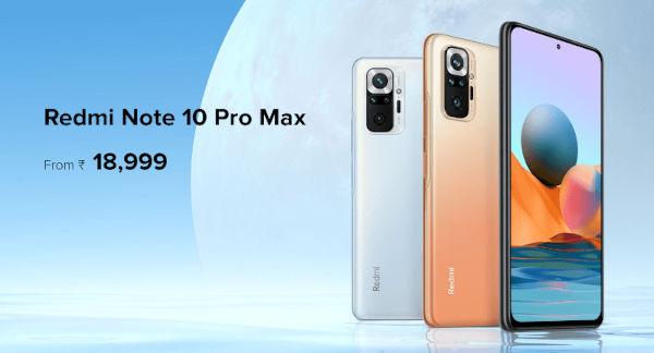 Redmi Note 10 Pro Max Price
