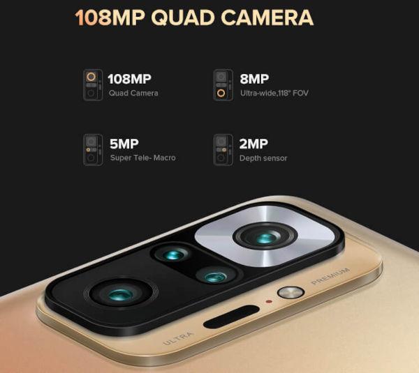 Redmi Note 10 Pro Max cameras