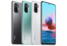Redmi Note 10 in colors