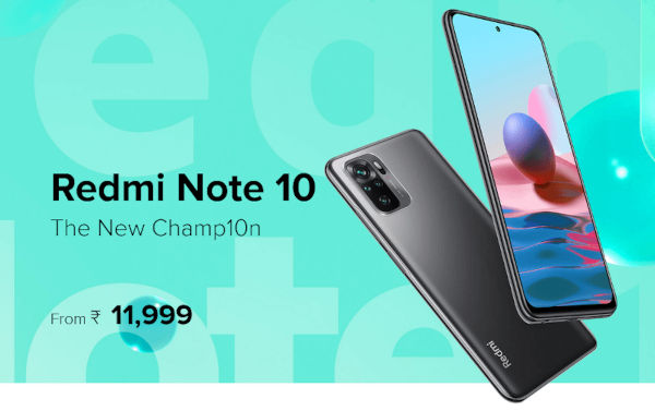 Redmi Note 10 launched
