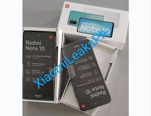 Redmi Note 10 leaks 1