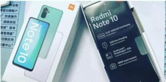Redmi Note 10 leaks