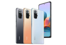 Redmi Note 10 pro series in colors