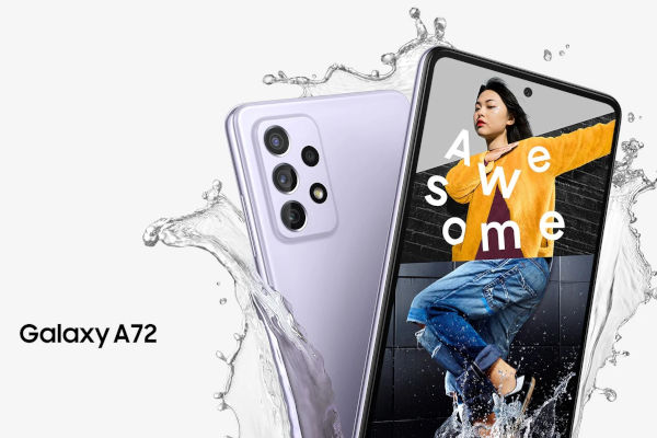 Samsung Galaxy A72 launched