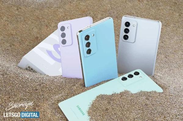 Samsung Galaxy S21 FE Renders Leaks 2