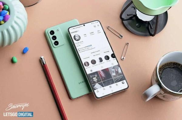 Samsung Galaxy S21 FE Renders Leaks 3