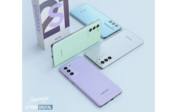 Samsung Galaxy S21 FE Renders Leaks 4