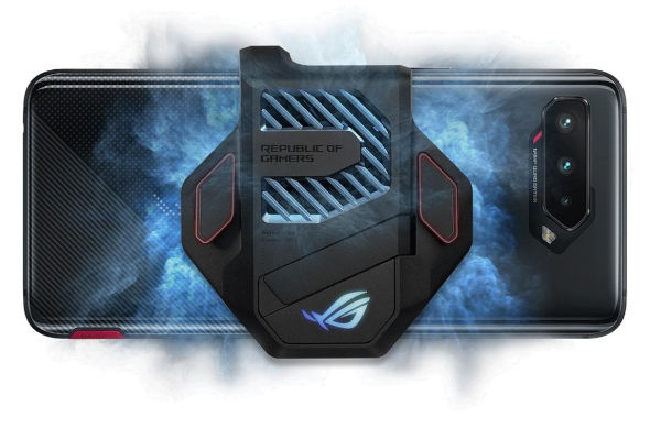The AeroActive 5 Cooler can reduce chipset temperature by as much as 10oC