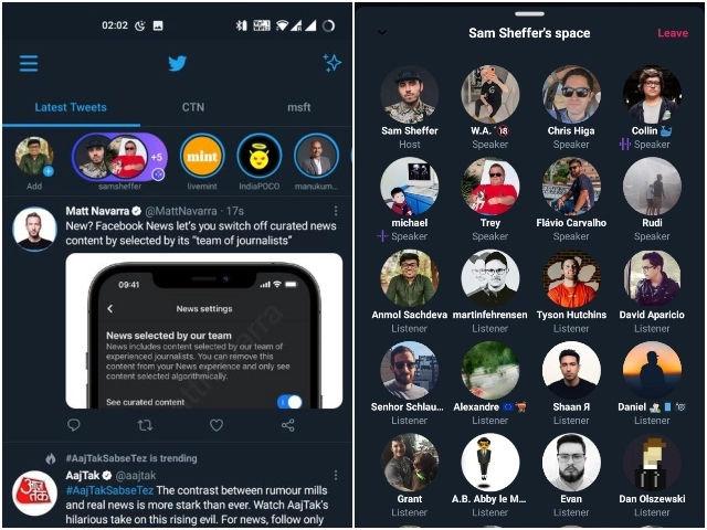 Twitter Audio Spaces