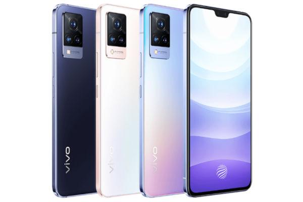 Vivo S9 in colors