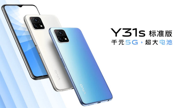 Vivo Y31s Standard Edition launched