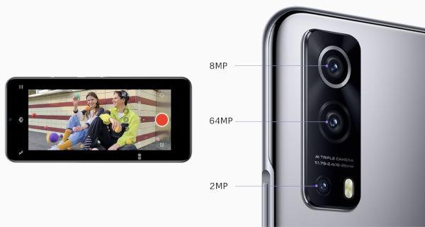 Vivo iQOO Z3 cameras