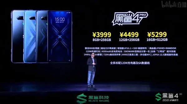 Xiaomi Black Shark 4 Pro Price