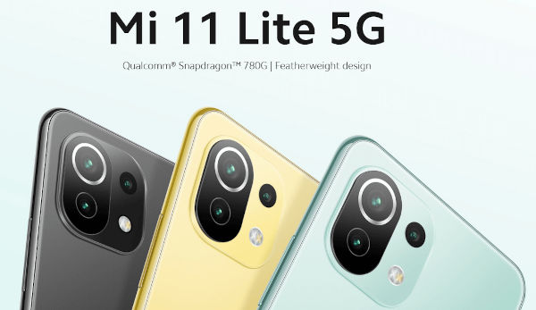 Xiaomi Mi 11 Lite 5G launched