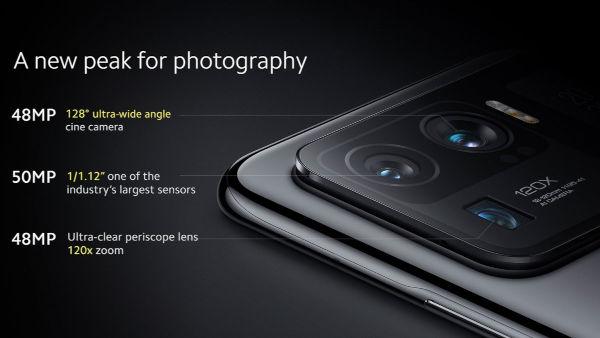 Xiaomi Mi 11 Ultra cameras