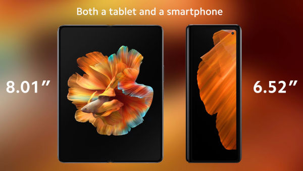 Xiaomi Mi Mix Fold launched 3