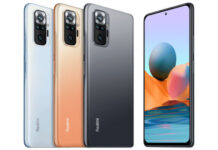 Xiaomi Redmi Note 10 Pro Global in colors