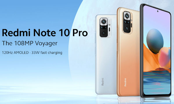 Xiaomi Redmi Note 10 Pro Global launched