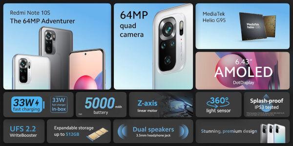 Xiaomi Redmi Note 10s specs