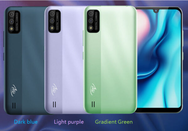 itel A37 in colors