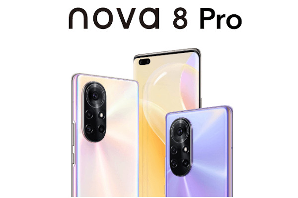 HUAWEI nova 8 Pro 4G launched