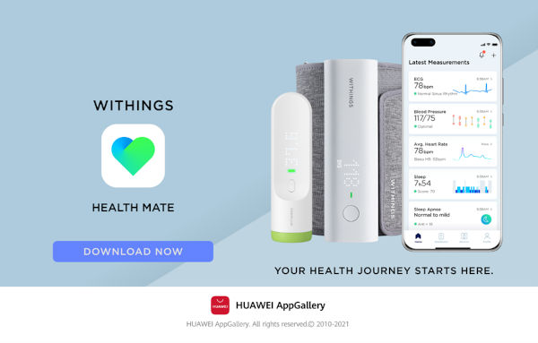 Health Mate app on AppGallery