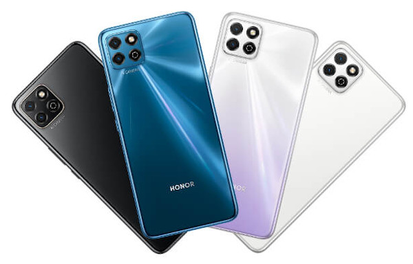 Honor Play 20 in colors