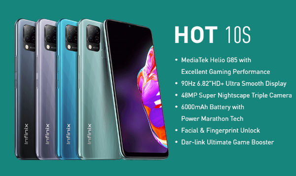 Infinix Hot 10S launched