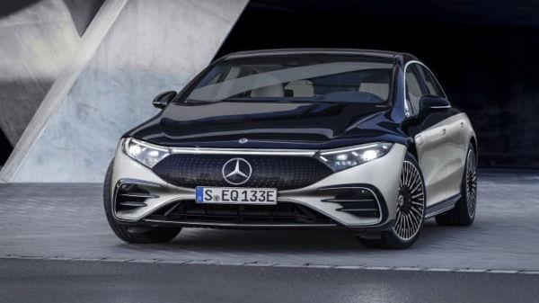 Mercedes Benz 2022 EQS Electric Vehicle 1