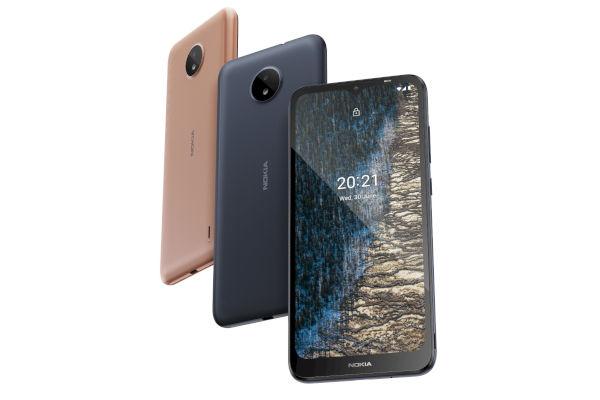 Nokia C20 in colors